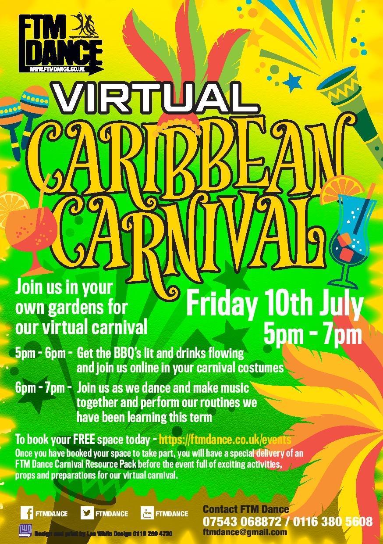 Virtual Caribbean carnival